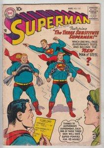 Superman #115 (Aug-57) VG+ Affordable-Grade Superman