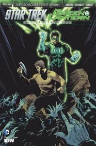 STAR TREK GREEN LANTERN #6 B, VF/NM, Spock, Kirk, War, 2015, IDW, more in store
