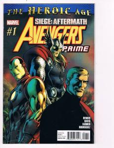 Avengers Prime # 1 Marvel Comic Books Awesome Issue Modern Age Iron Man!!!!! S25