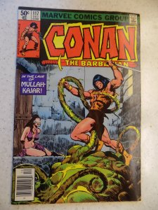 CONAN THE BARBARIAN # 117 MARVEL SAVAGE SWORD SORCERY FANTASY