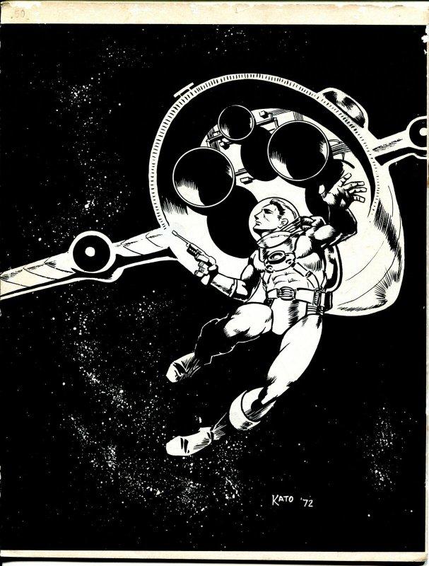 Hemogoblin #1 1972-Frank Brunner-Denis Kitchen-1st issue-Neal Pozner-VG