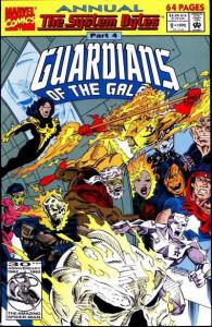 Guardians of the Galaxy (1990 series) Annual #2, NM- (Stock photo)