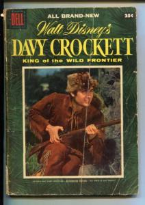 DAVY CROCKETT #1-1955-FESS PARKER-GIANT EDITION-DELL-good
