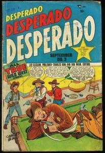 DESPERADO #3-VERY VIOLENT PRE-CODE WESTERN G/VG