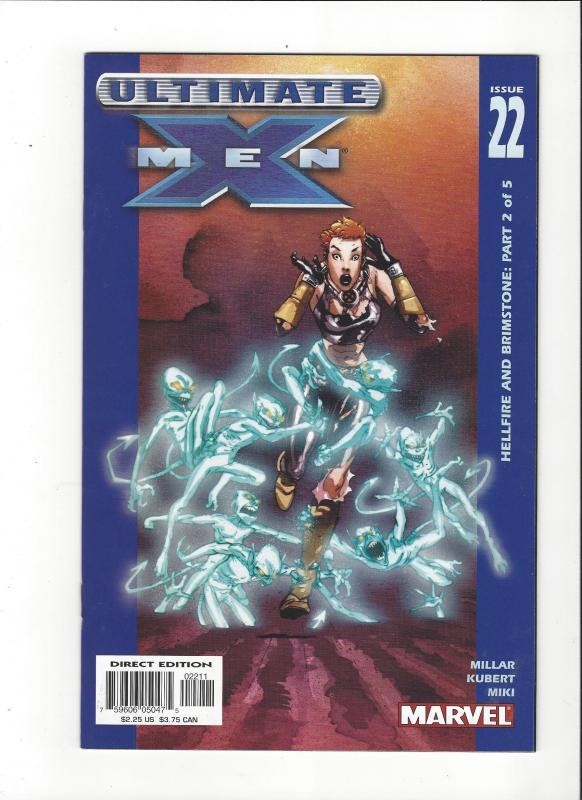 Ultimate X-Men #22 (2001) Hellfire and Brimstone  NM