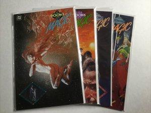 Books Of Magic 1-4 1 2 3 4 Lot Set Run Nm Near Mint Dc Comics