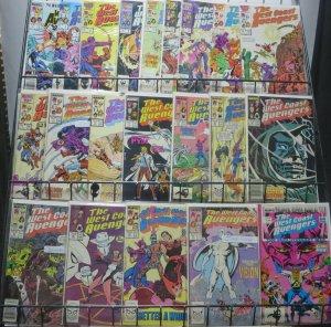 WEST COAST AVENGERS 21 BOOK SAMPLER! Steve Englehart Marvel classics