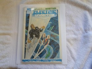 1990 STRIKEFORCE MORITURI ELECTRIC UNDERTOW # 4/5 MARVEL