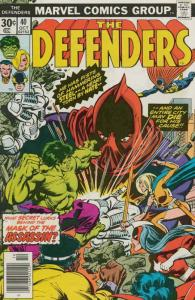 Defenders, The #40 FN; Marvel | save on shipping - details inside