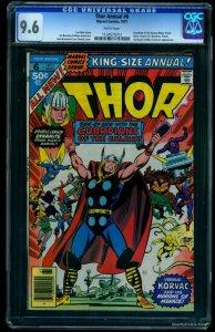 Thor Annual #6 CGC NM+ 9.6 White