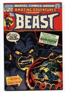 Amazing Adventures #17 BEAST origin x-men comic book 1973 marvel