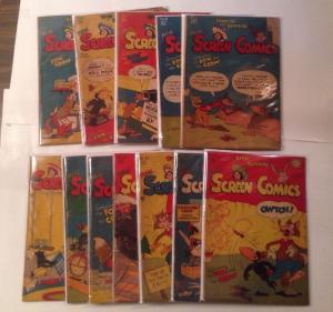 Real Screen Comics 6 8 9 11 12 13 14 15 16 17 19 21 2.0-4.0 Range