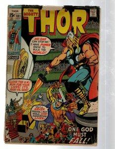 Mighty Thor # 181 PR Marvel Comic Book Loki Odin Asgard Sif Avengers Hulk RB8