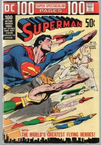 SUPERMAN 252 VG June 1972