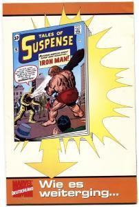 Tales of Suspense #391ST IRON MAN-HIGH GRADE GERMAN VERSION