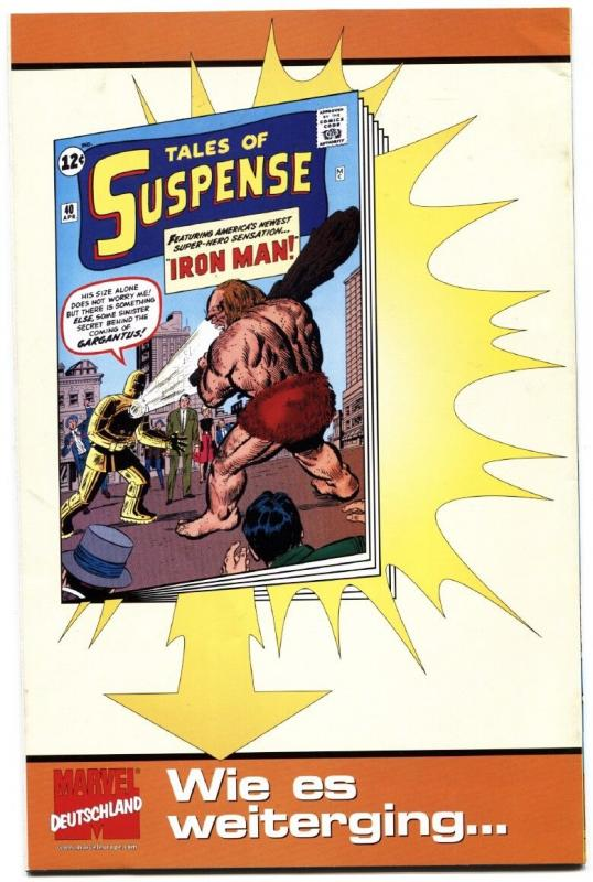 Tales of Suspense #391ST IRON MAN-HIGH GRADE GERMAN VERSION