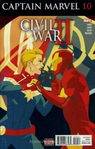 Captain Marvel (10th Series) #10 FN; Marvel | save on shipping - details inside