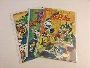 New Justice Machine 1-3 1 2 3 Nm- Near Mint- 1991 Innovation Comics