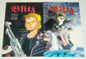Blitz #1-2 VF/NM complete series - barry blair - night wynd comics set lot 1992