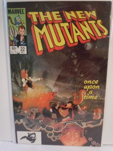 The New Mutants #22