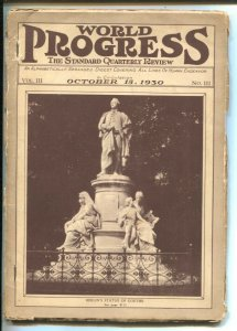 World Progress 10/15/1930-Covers All Lines Of Human Endeavor-aviation-Russia-...
