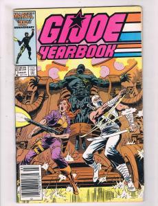 G.I. Joe Yearbook # 3 FN Marvel Comic Book Hasbro Cartoon Movie Duke Snake JH3
