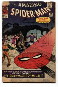 AMAZING SPIDER-MAN #22 comic book-FIRST PRINCESS PYTHON-DITKO G