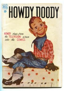 HOWDY DOODY #1 1950-DELL-1ST ISSUE-1ST TV COMIC-SCARCE-PHOTO COVER