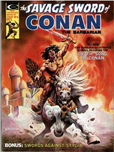 Savage Sword of Conan (1974 Magazine) #8 - GOOD or Better