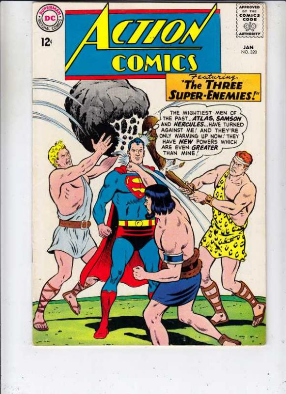 Action Comics #320 (Jan-65) VF/NM+ High-Grade Superman, Supergirl