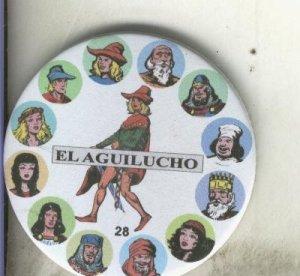 Imanes serie numero 28: El Aguilucho
