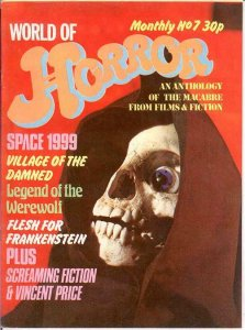 WORLD OF HORROR (1970S DALLRUTH)   7 VG-F