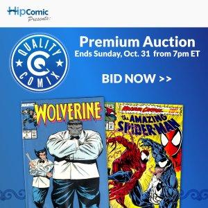 Quality Comix Premium Auction Event #46