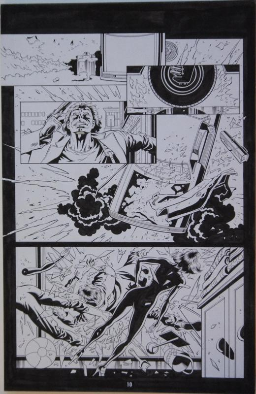 PAUL GULACY / KARL KESEL original art, TERMINATOR S O #3 pg 10, 11x17, BOOM