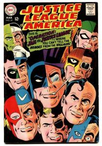 JUSTICE LEAGUE OF AMERICA #61 comic book 1968-DC-FLASH-BATMAN-DC