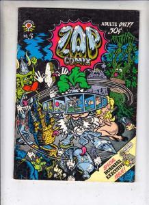 Zap #5 (Jan-73) VG/FN Mid-Grade