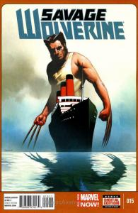 Savage Wolverine #15 VF; Marvel | save on shipping - details inside