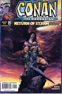 Conan – The Return of Styrm # 1,2,3