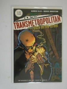 Transmetropolitan TPB #1 Back on the Street SC 8.0 VF (1998 3rd Print Vertigo)