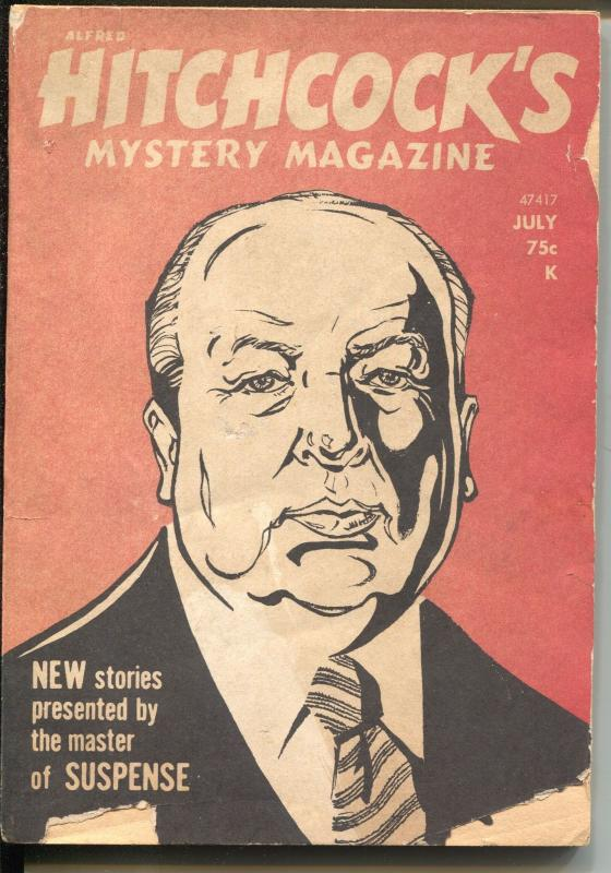 Alfred Hitchcock's Mystery Magazine  7/1975-Bill Pronzini-pulp writers-G