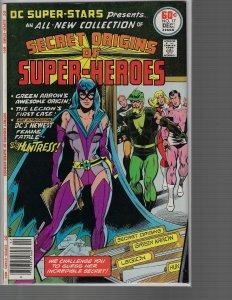 DC Super-Stars #17 (DC, 1977) KEY - 1st Huntress