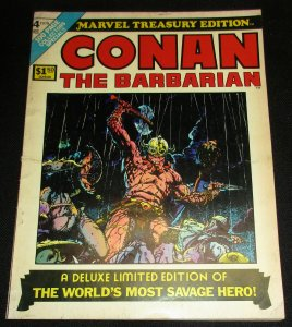 Marvel Treasury Edition #4 Conan The Barbarian (1975) VG