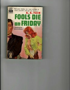 3 Books Fools Die on Friday Murdered: One By One The Mind-Twisters Affair JK11