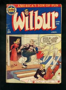 WILBUR #24 1948-ARCHIE COMICS-KATY KEENE G/VG