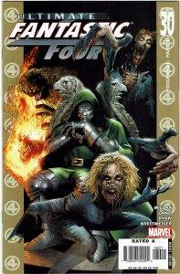 Ultimate Fantastic Four #30 Mark Millar Greg Land Zombies NM