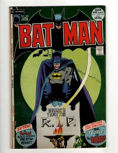 Batman # 242 VF- DC Comic Book Joker Robin Catwoman Gotham Penguin Ivy KD1