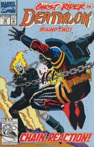 Deathlok (2nd Series) #10 VF/NM; Marvel | save on shipping - details inside