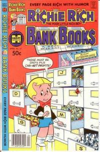 RICHIE RICH BANK BOOKS (1972-1982) 51 VF-NM April 1981 COMICS BOOK