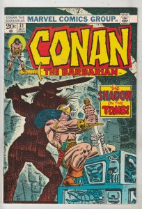 Conan the Barbarian #31 (Oct-73) VF/NM High-Grade Conan the Barbarian