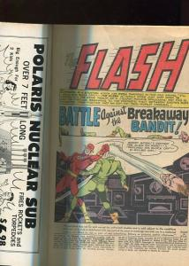 THE FLASH  #158  7.5  (VF-)  OW/W  PAGES (1965)  HIGHER GRADE
